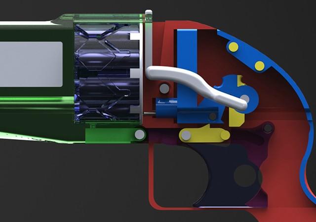 進化を続ける日本生まれの3Dプリント銃
