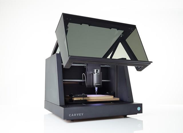 高性能なデスクトップ型CNCがKickstarterで資金調達中