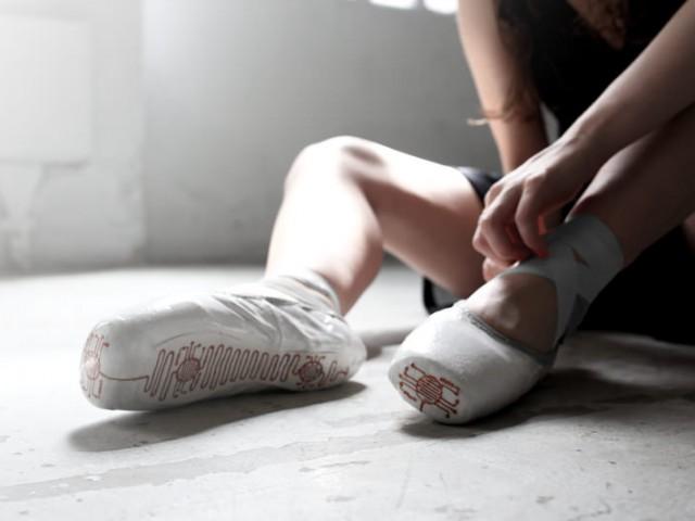 バレエダンサーの動きをトーレスする美しいキャプチャシステム