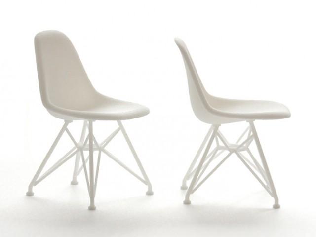 3Dプリントミニチュア家具「Eames DSR」に1/12スケールを追加