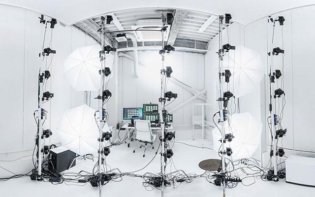 国内では数少ない本格3Dキャプチャスタジオ