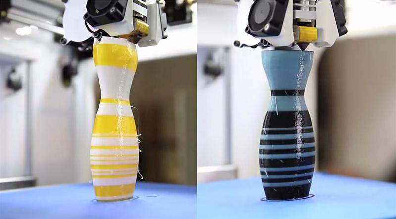 このドレス何色に見える?で話題となったドレスをFDM(FFF)機で3Dプリント造形?