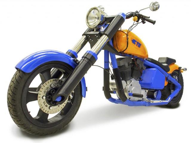 3Dプリンタで造られた自走可能電動バイク!