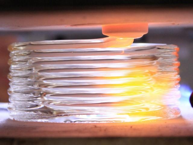 MITの研究チームが開発したガラス3Dプリンター