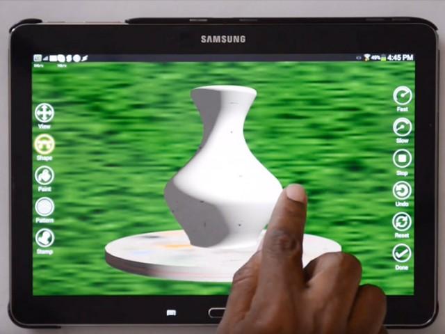 アプリと3Dプリンタを使って今日から陶芸家