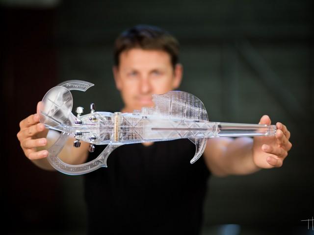 世界初の3DプリントヴァイオリンがKickstarterでローンチ