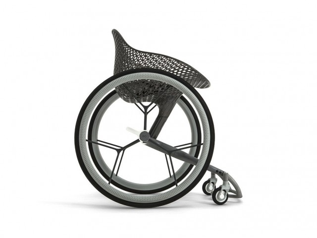 世界初の3Dプリント車椅子GOその詳細が明らかに