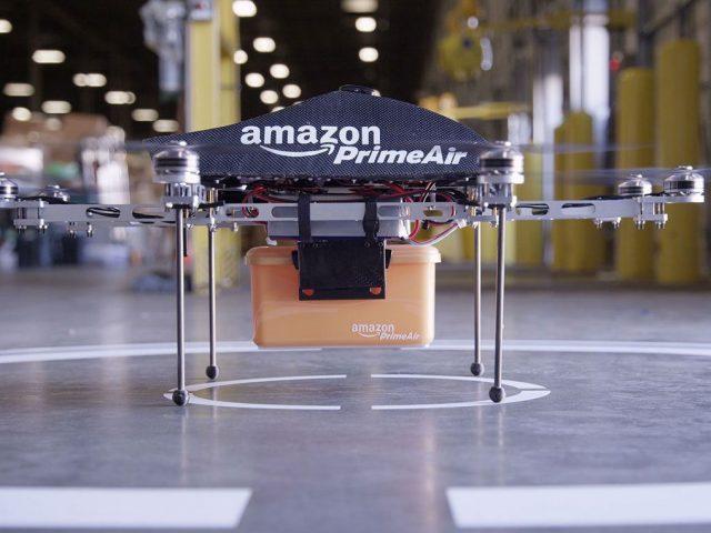 Amazonの3Dプリント・ドローンラボ