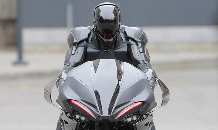 Exclusive - 'RoboCop' Film Set