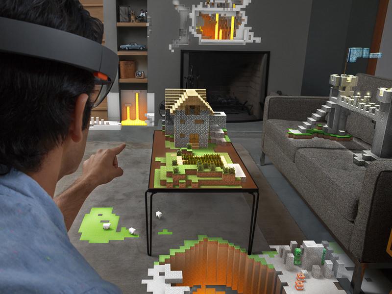 HoloLens-E3-minecraft-3