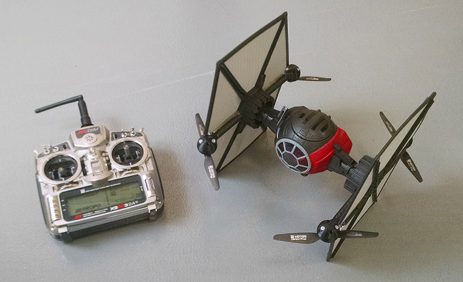 TIE-FIGHTER-drone-3D-printed-parts-4