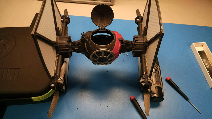 TIE-FIGHTER-drone-3D-printed-parts-6