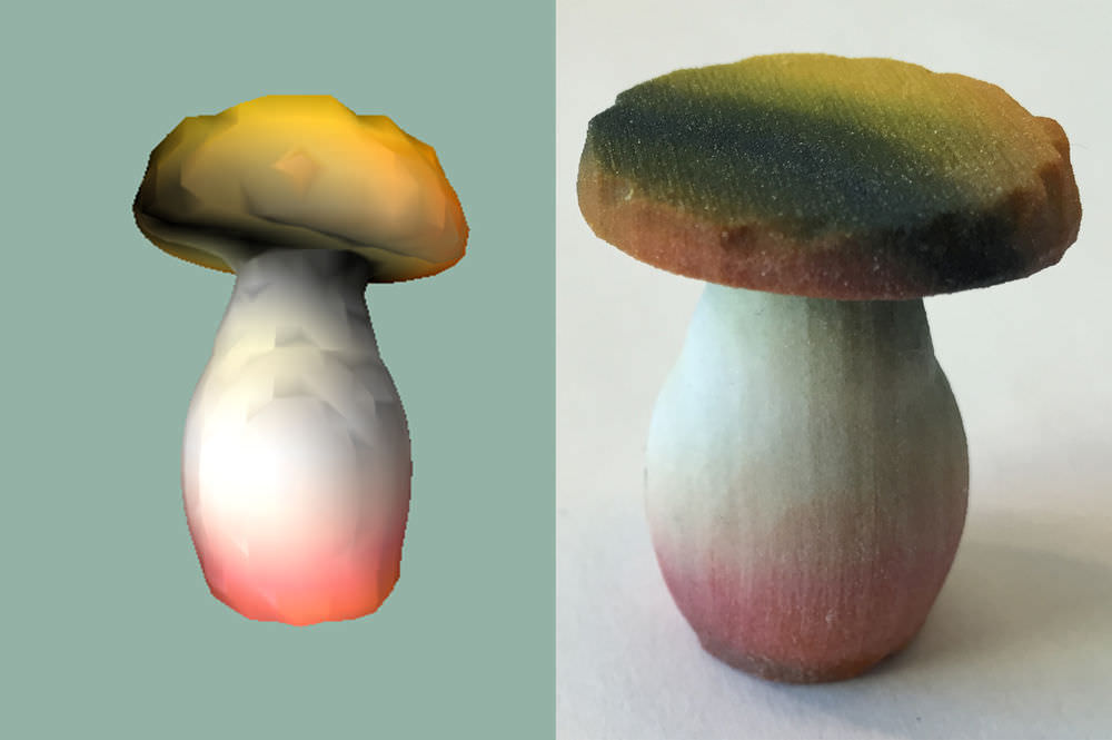 AI-artist-mushroom-3d-print-1